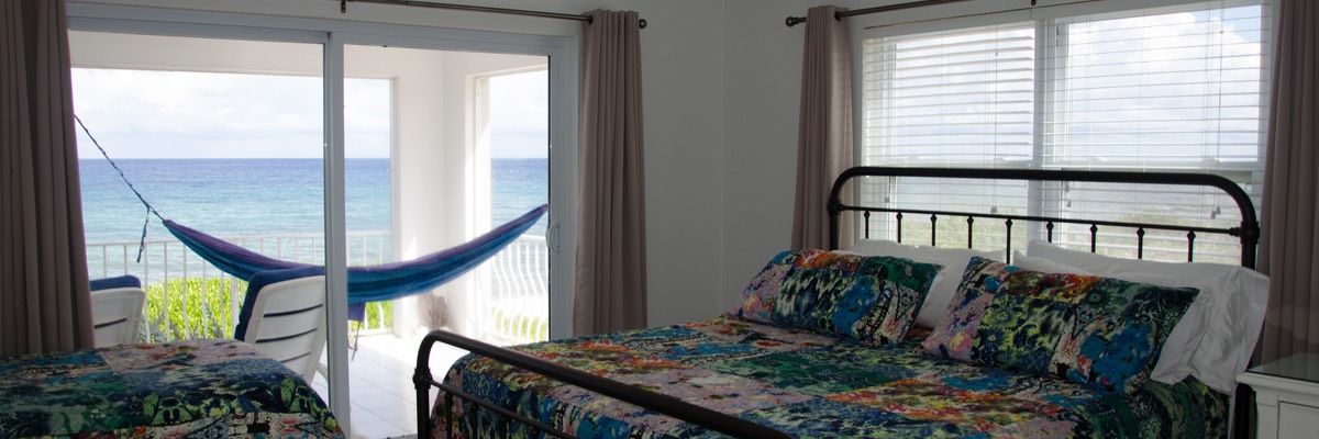 2nd bedroom King & Twin beds! Sea & bluff views!